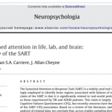 Failures of sustained attention in life, lab, and brain: Ecological validity of the SART